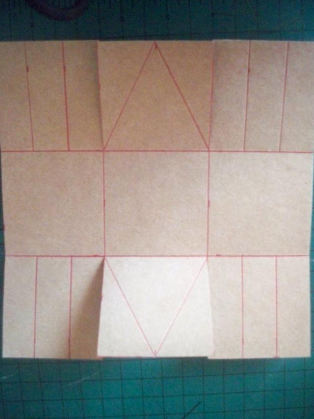 Horizon-Créations :: Atelier 9 : Tuto : petit panier en papier