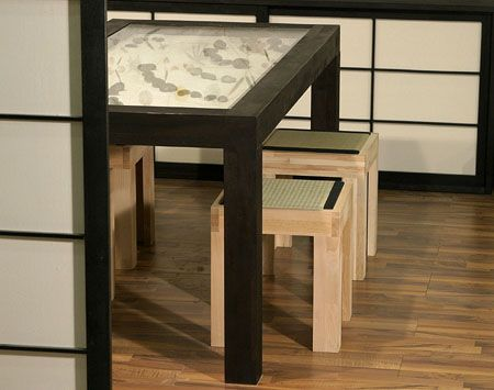 zen garden furniture. Zen Garden Table Furniture