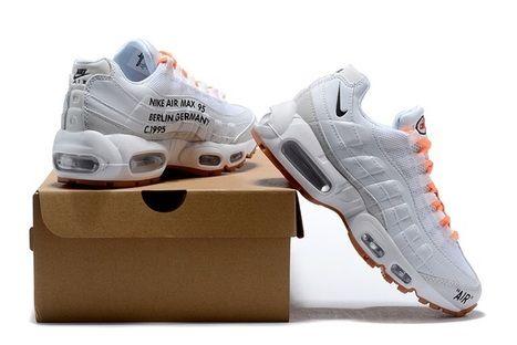 quality design 82bb1 448f6 Off White Nike Air Max 95 White