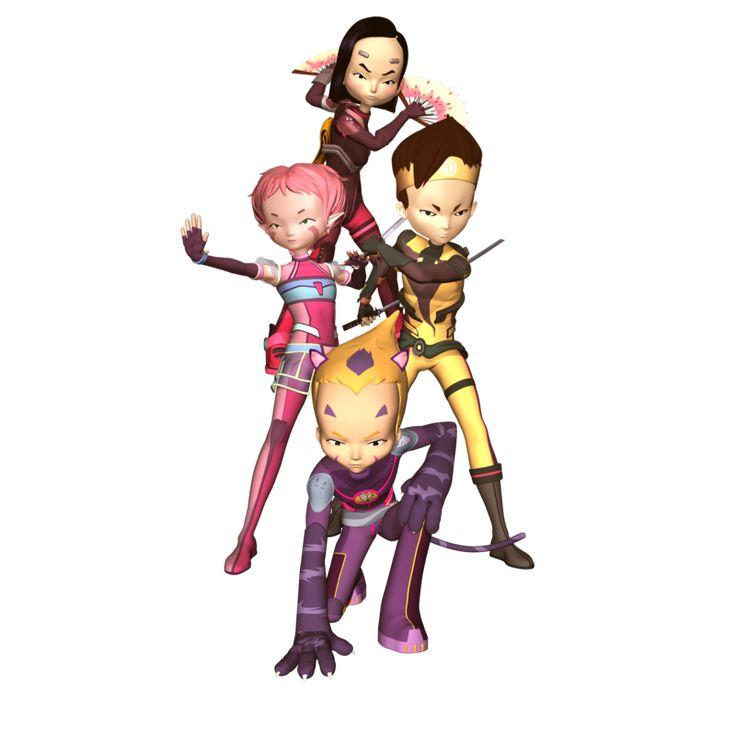 Ahí esta tus personajes en la versión PNG!! :D