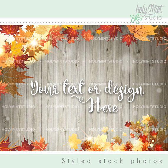 Autumn Mockup by www.HolyMintStuido.Etsy.com