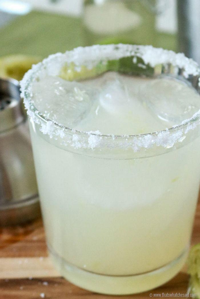 The Absolute Best Margarita Recipe.  Period.