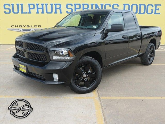 2014 Ram 1500 Black Ram Package With Black Rims And Badges Ram