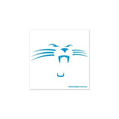 Carolina panthers official logo tattoo 4 pack by nfl 4 for Carolina panthers tattoos