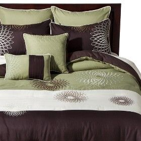 33 Best Green And Brown Bedding Images On Pinterest