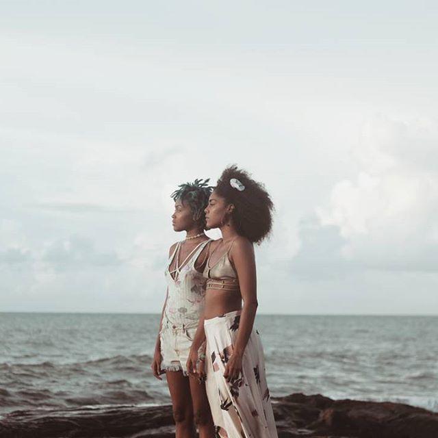 Foto para clipe Baiana do  Artista Emicida   Modelos: Dandhy Braz e Ayana Amorim