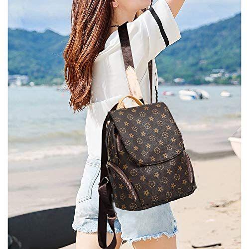 78d6dc8268af Olyphy Fashion Leather Backpack Purse for Women, Designer PU ...