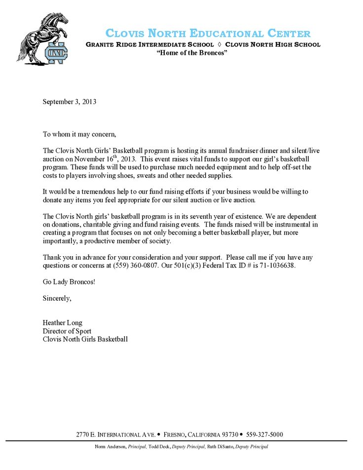 letter sponsorship business contract between two parties case clovis north girls basketball