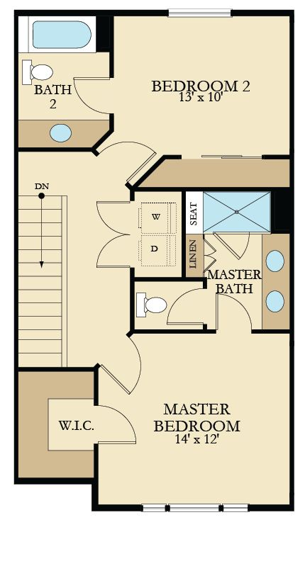 1000 Images About Floor Plans On Pinterest One Bedroom