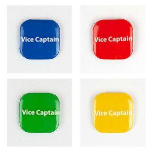 32mm Square Button Badge - Vice Captain – London Emblem