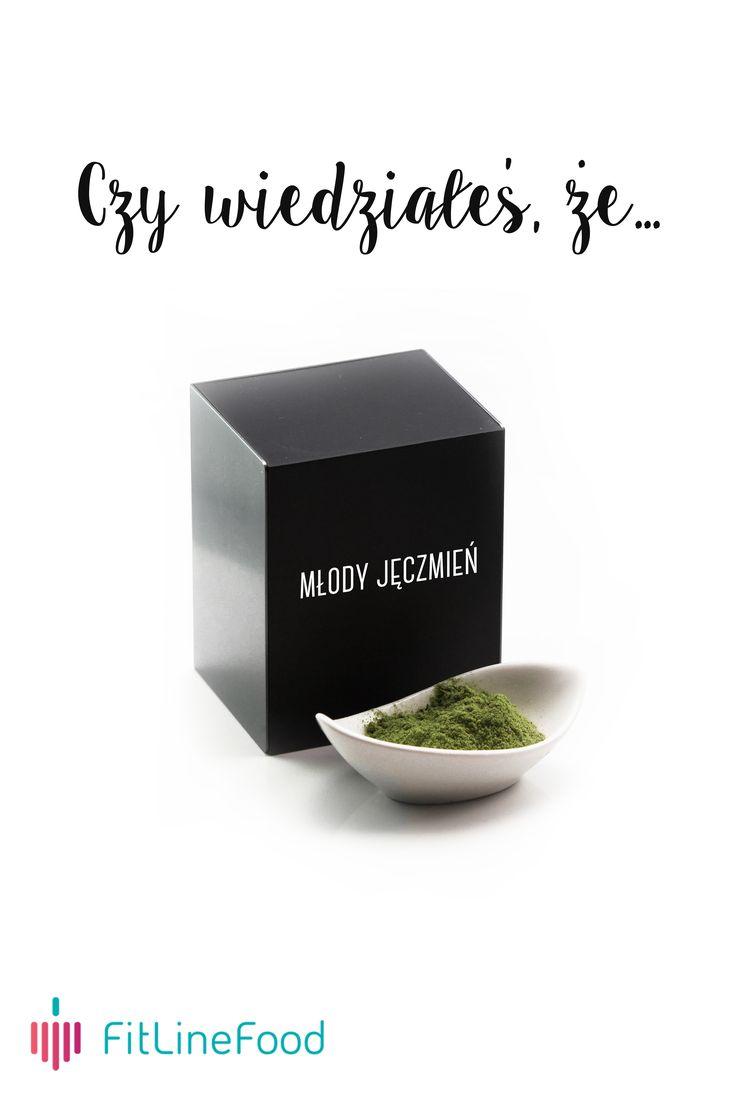 Czy wiedziałeś, że młody jęczmień to naturalna bomba witamin? / Did you know, that barley grass is a natural Vitamin bomb? www.fitlinefood.com