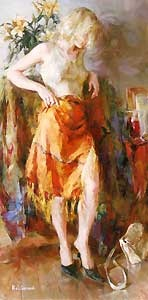 Ready for Romance - Michael and Inessa Garmash - World-Wide-Art.com - $950.00 #Garmash
