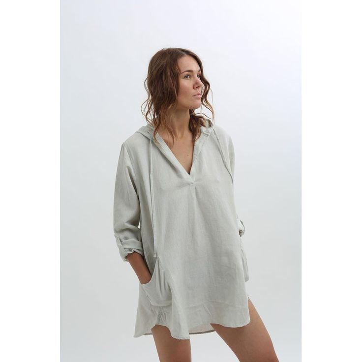 Hooded Tunic Shirt - Light Grey - High Quality Outdoor and Casual Furniture - Buy online or in Burlington, Mississauga, London,…