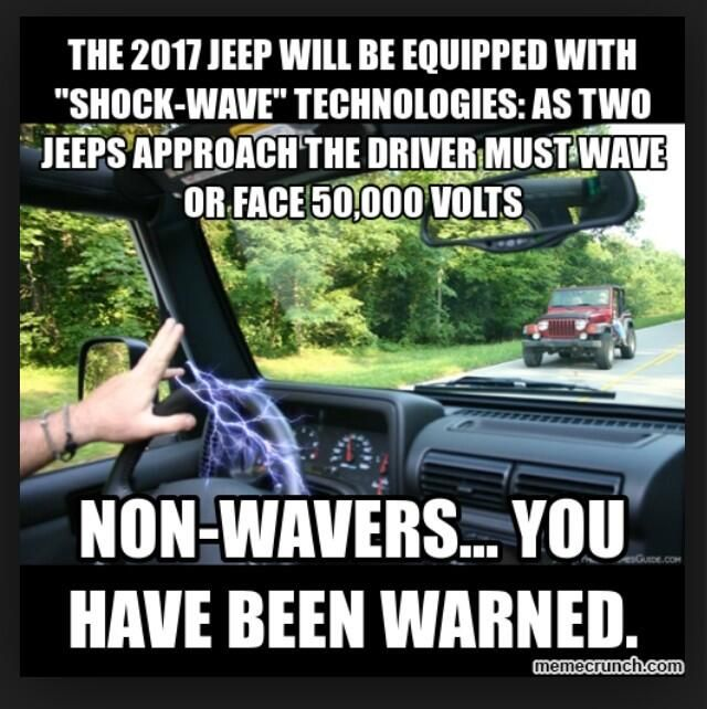 Fine! Don't Jeep Wave. pic.twitter.com/9KOO5Tv6D2 #jeepedin