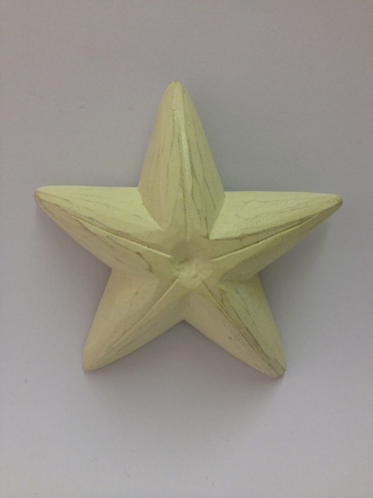 East of India Cream Starfish £3.99 Shabby chic wooden East of India Cream Starfish, a great accessory for a nautical themed room. Each starfish is hand painted therefore there may be a slight variation in shading. Dimensions Approx: H: 11.5cm x W: 11.5cm x D: 3cm