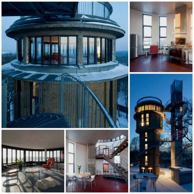 9 Amazing Lookout Towers Converted Into Homes   Germany Water Tower