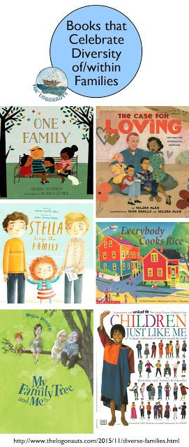 Text Set: Books that Celebrate Diversity of/within Families | The Logonauts