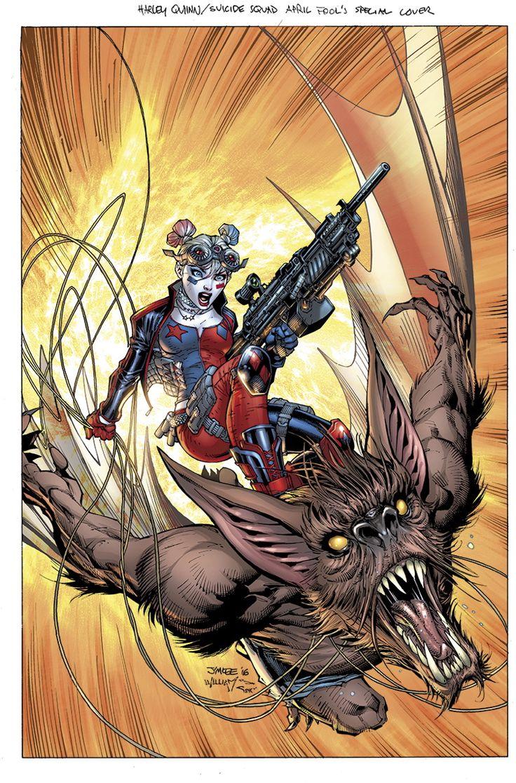 DC Rebirth : Jim Lee arrive sur Suicide Squad à l'automne | COMICSBLOG.fr
