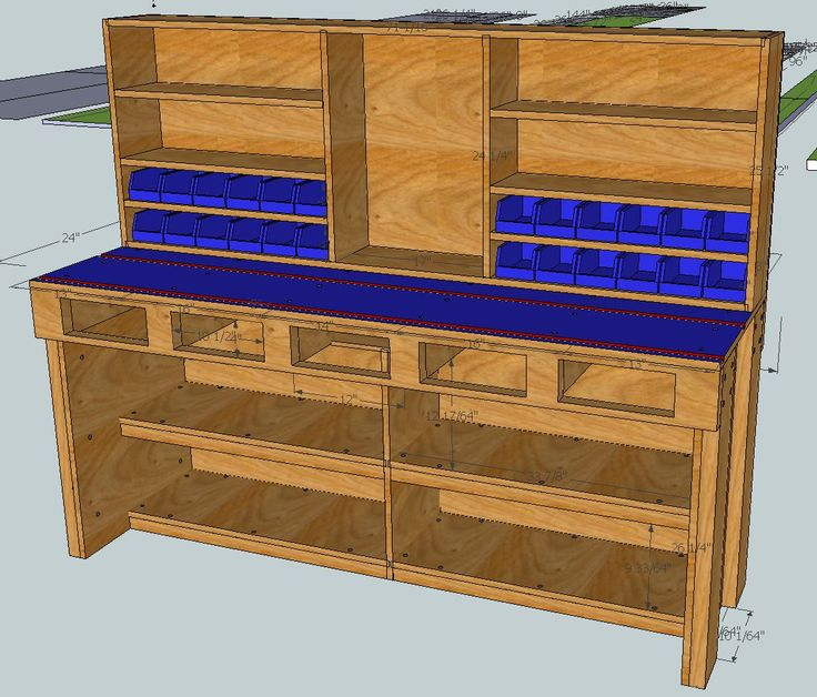 Workbench Plans Build a bench versus buy a bench. - AR15.Com Archive