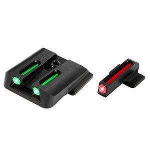 Truglo Fiber Optic Handgun Sight Set - Smith & Wesson M&P