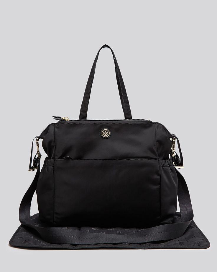 I need this! Tory Burch Diaper Bag - Travel Nylon | Bloomingdales