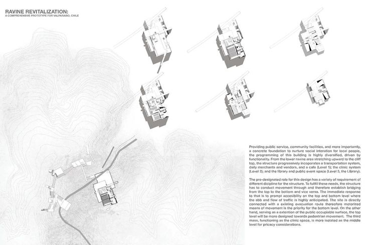 Presidents Medals: Ravine Revitalization: A Comprehensive Prototype for Valparaiso, Chile