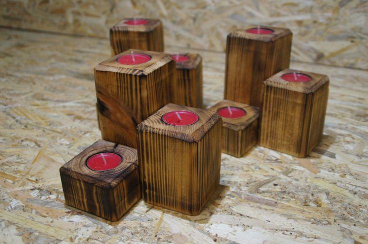 3 x CHANDELIER, wood, DIY, workshop