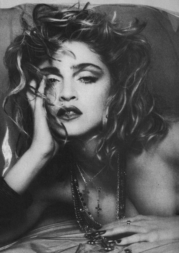 madonna 80s black and white - Google Search