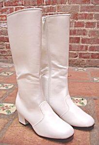 1970s White Boots for Women | 1960s 1970s WHITE BOOTS GO GO MOD DISCO DANCE (MINI DRESS - Disco ...