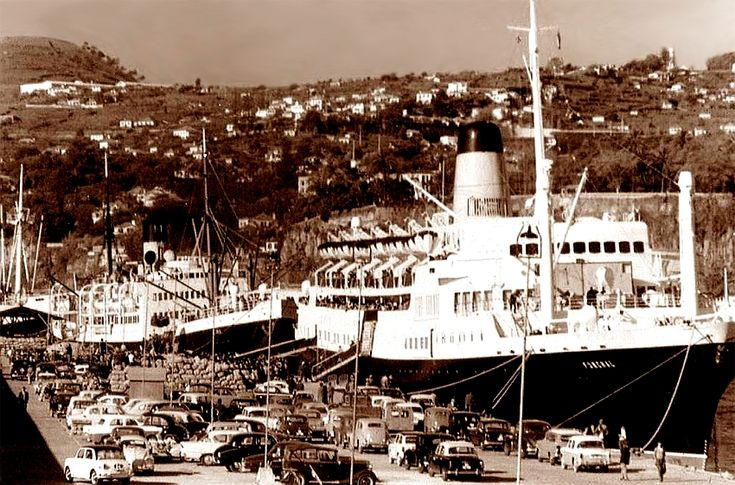SS Funchal and SS Lima, Madeira