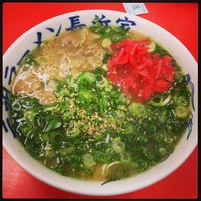 元祖ラーメン 長浜家 (港) is a Ramen / Noodle House in 福岡市中央区, 福岡県, Japan popular with Foodies.