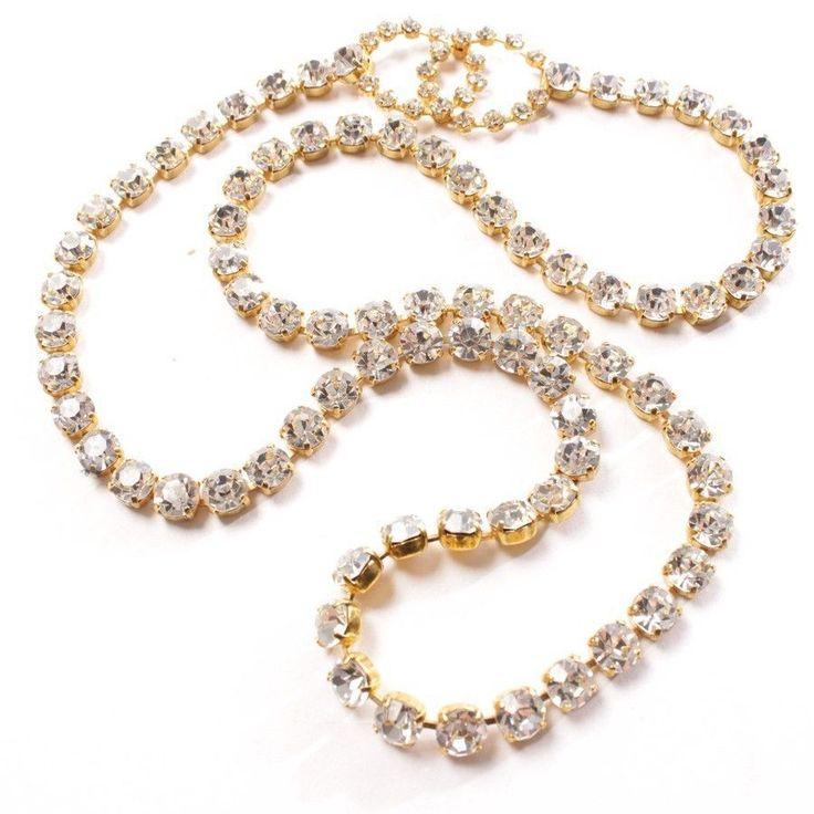 CHANEL Kette Gold Damen Accessoire Necklace Collier Modeschmuck Jewelry #Luxus