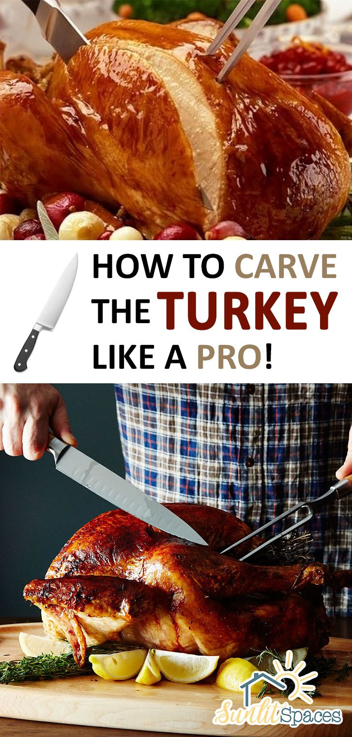 Learn how to carve your turkey like a pro. These tips will ensure your holiday goes as smooth as can be!