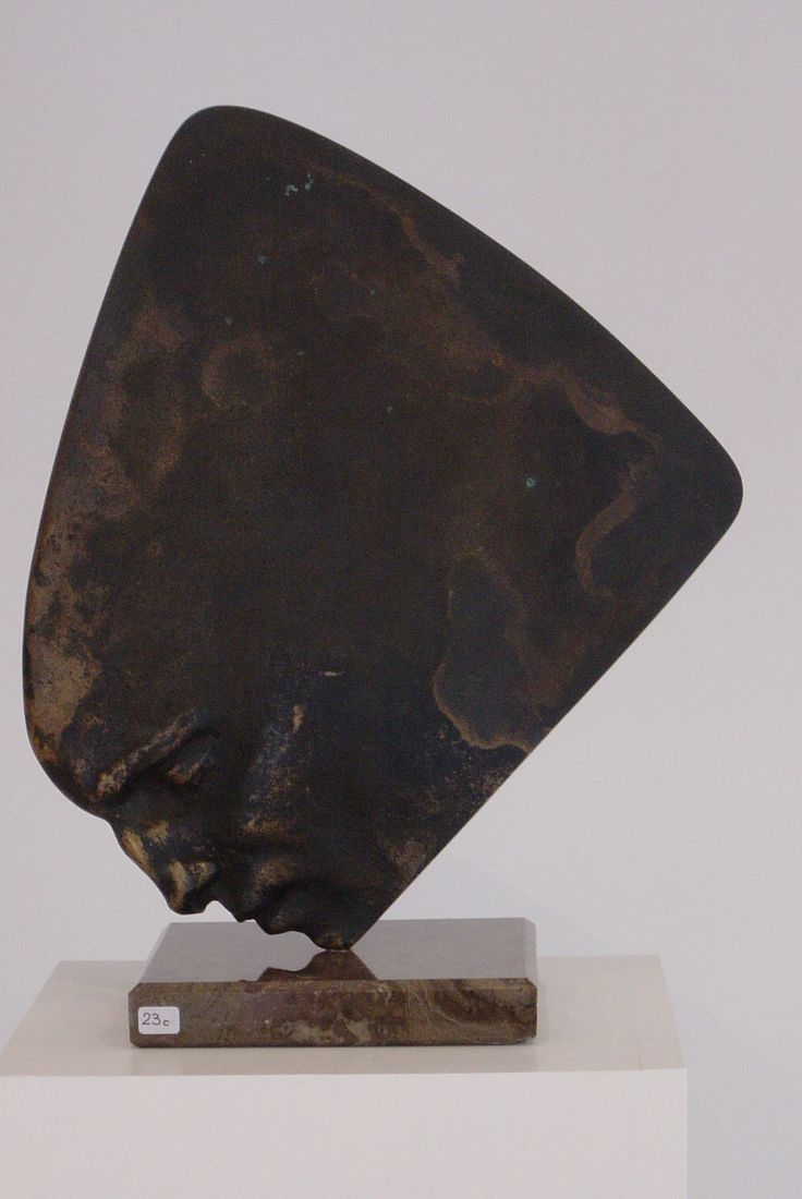 """Sailhead"" - bronze - author Jakub Blazejowski"