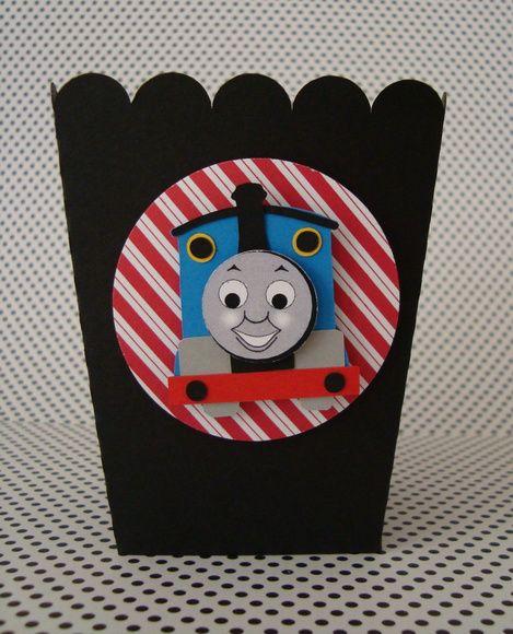 Caixinha pipoca Thomas e seus amigos