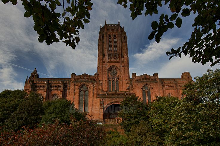 Liverpool Anglican Cathedral and St James' Cemetery