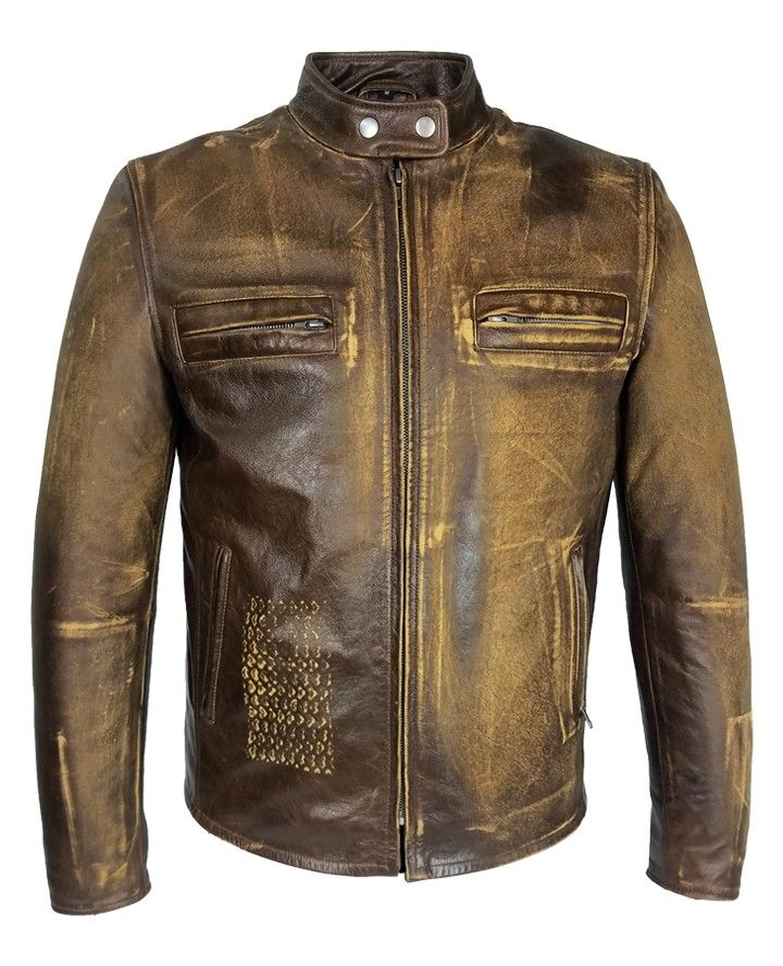 You can easily buy Distressed Leather Jacket from our wide variety of Mens Brown Distressed Leather Jacket on our online store. We offer unique range of Distressed Brown Leather Motorcycle Jacket in affordable prices.  #MensBrownDistressedLeatherJacket #MensDistressedBlackLeatherJacket #DistressedLeatherJacket #DistressedBrownLeatherMotorcycleJacket
