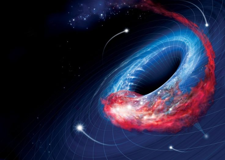 The giant black hole in the middle of our galaxy stays pretty quiet most of the time, flaring up only occasionally. But it is due for a burst of activity any day now, as a large cloud of gas and dust continues to spiral toward the heart of the Milky Way.
