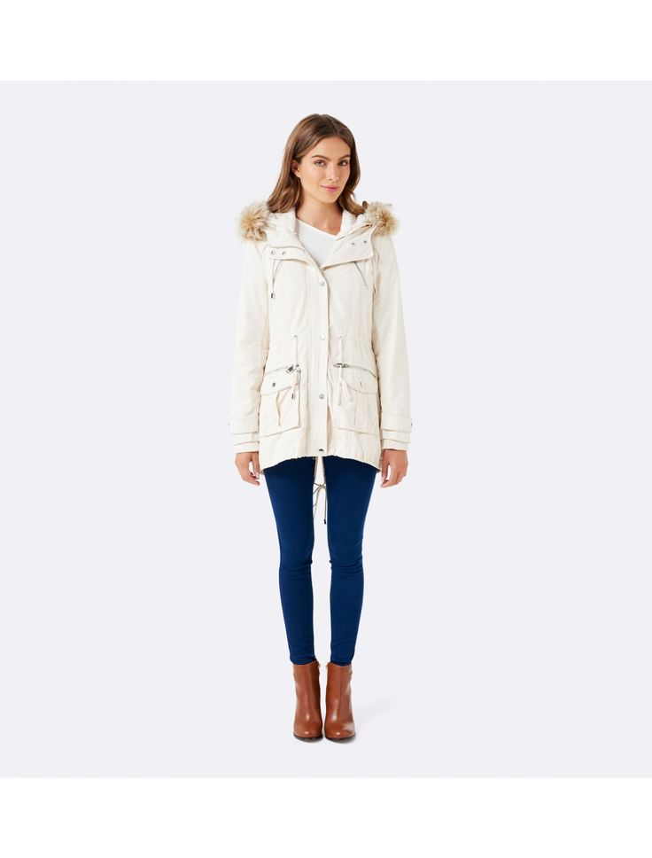 Embrace the cool weather in style this winter with our gorgeous Riley Parka.