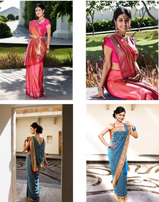 The Whole 9 Yards - Sneak Peek: Saree draping by Kalpana Shah #Saree
