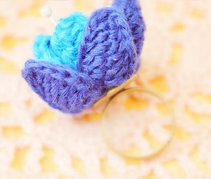 '': Crafts Ideas, Knit Flowers, Eating Healthy, Knits Flower