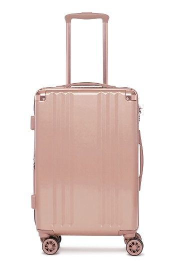 Free shipping and returns on CALPAK Ambeur 20-Inch Rolling Spinner Carry-On at Nordstrom.com. A lightweight hard shell provides durable, easy-to-carry utility in this sleek suitcase fitted with a set of four multidirectional spinner wheels for effortless airport navigation. The zippered divider creates two separate packing compartments, and an expansion sleeve unzips to increase the packing capacity.