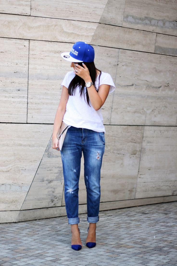 Buty i czapka dostepne na www.StyloweButy.pl <3