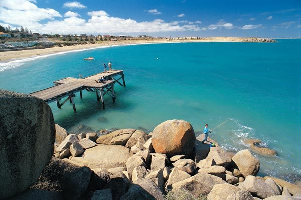 Horseshoe Bay at Port Elliot • quoted by previous pinner • South Australia • Adelaide's beaches