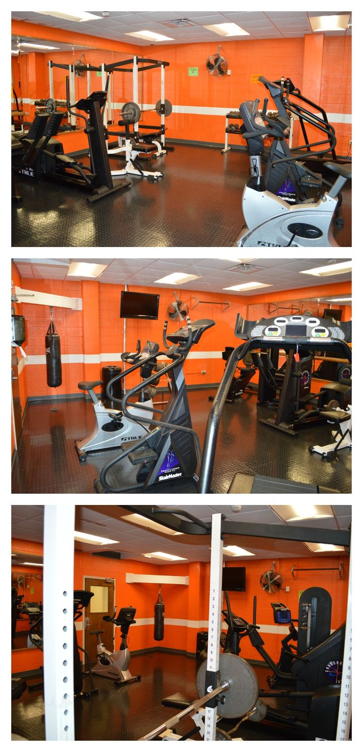 Gym Available To Residents In North And South Carrick Residence Hall Dorm Room Dorm