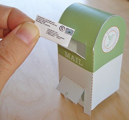 Love it. But I would really like a printable British post box!