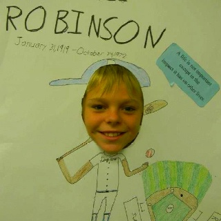 Biography and Jackie robinson on Pinterest