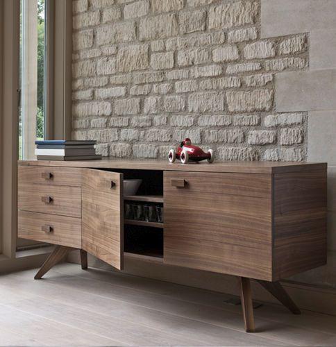 Aparador moderno de madera - CROSS by Matthew Hilton