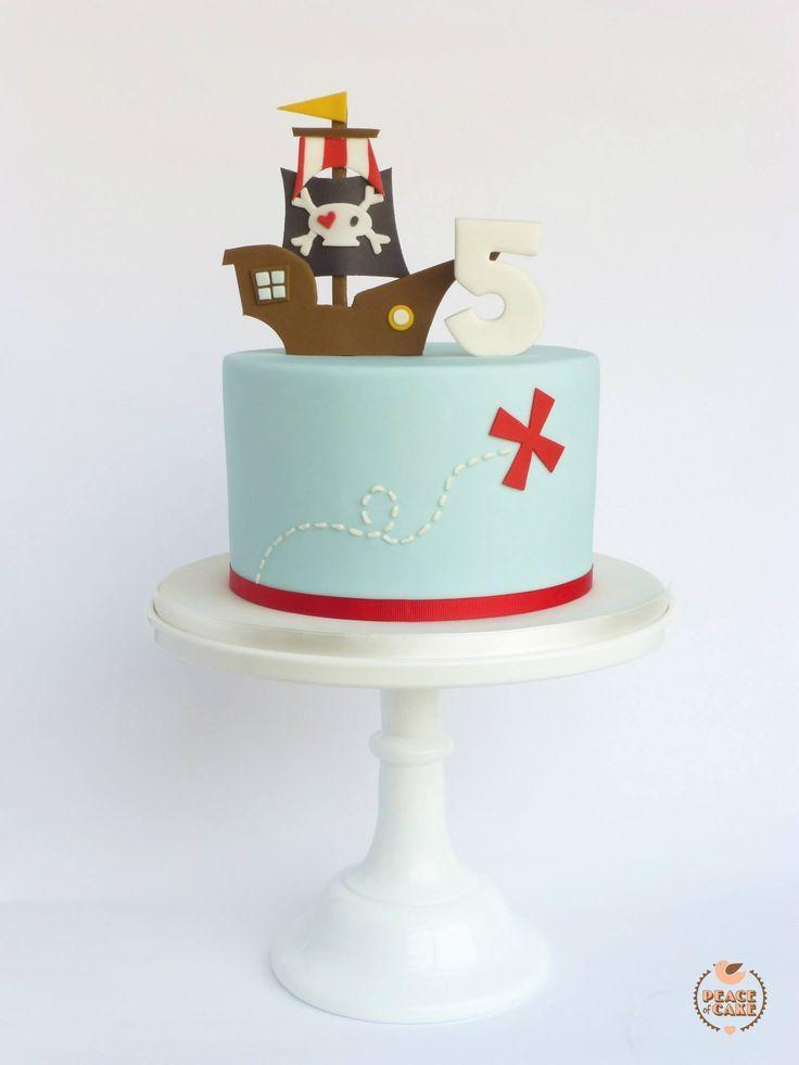 Pirate cake.
