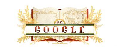 Doodleando, Los Logos de Google: La Constitución mexicana cumple 100 años.